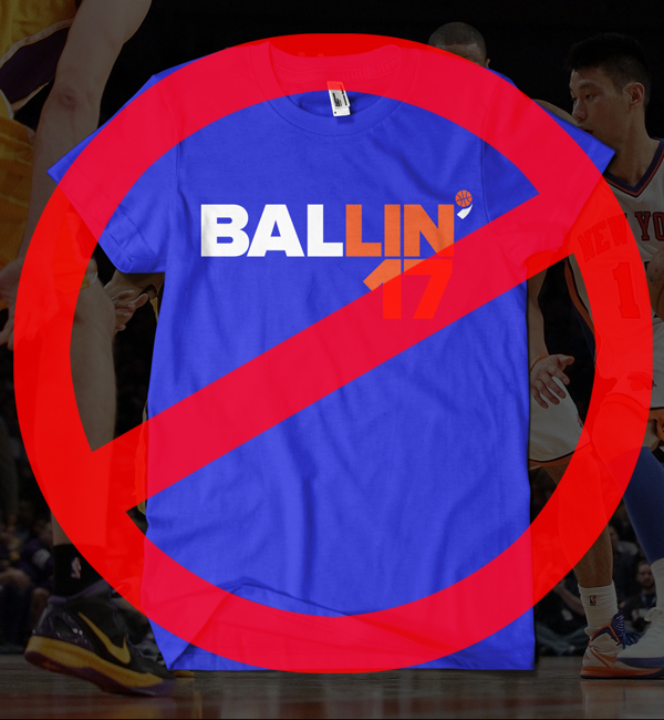 BALLIN' Tee Comes to an End